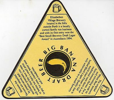Big Banana Australian Beer Coaster #1
