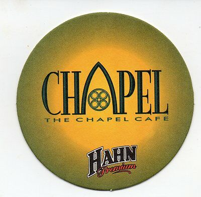 Hahn Chapel Cafe Australian Beer Coaster