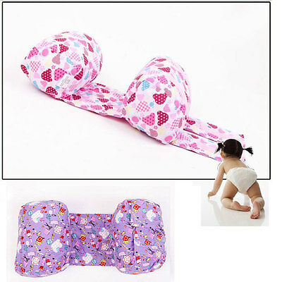 Baby Toddler Safe Cotton Anti Roll Sleep Head Positioner Anti-rollover Pillow