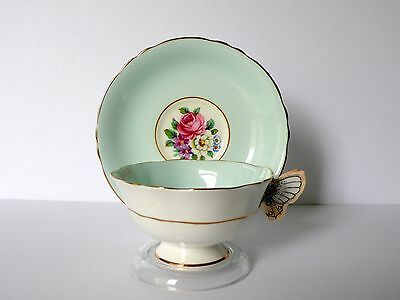 Paragon Butterfly Handle Bone China Cup & Saucer Set