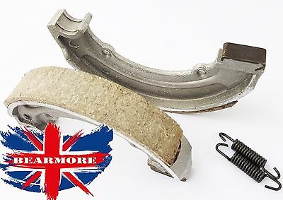 """Rear Brake Shoe Pads 6"""" With Spring For Royal Enfield Motorbike"""