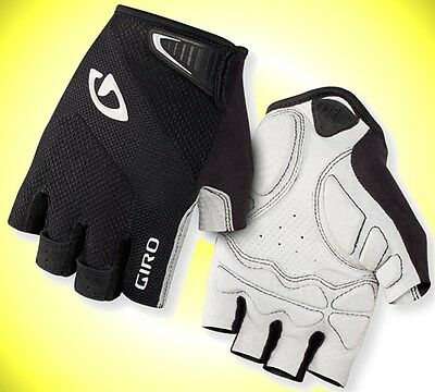 Giro Monaco Gloves L Black half Finger Road Mountain Bike Glove short Finger