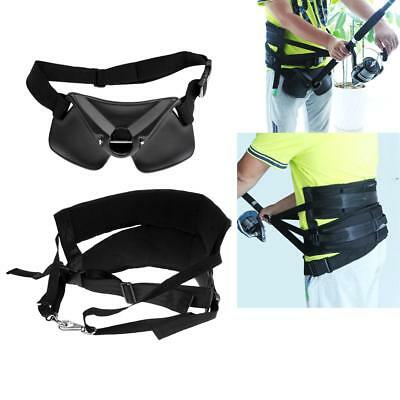Thickened Pad Fishing Rod Holder with Distributing Load Waist Harness Belt