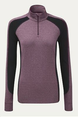 Noble Outfitters Ladies Lauren 1/4 Zip Mock