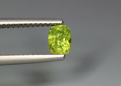 0.54 Cts_Stunning Very Rare Collection_100 % Natural Demantoid Garnet - Russia