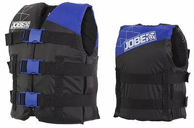 Jobe Progress Nylon Vest Youth Kids Life Jacket Float blue