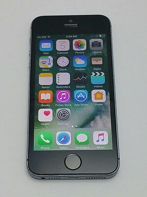 Apple iPhone 5s - 32GB -Black (Bell) Smartphone - Very Good Condition