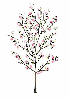 RoomMates Blossom Tree Peel & Stick Wall Decals Model# RMK2460SLM - BRAND NEW!!!