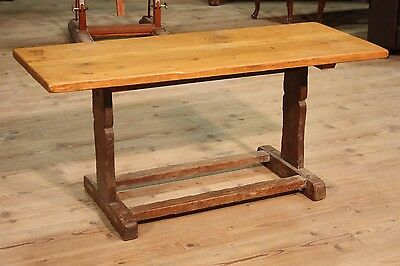 LOVELY TABLE LOW LIVING ROOM RUSTIC NORTH EUROPE PERIOD '900 (L 122,5 cm)