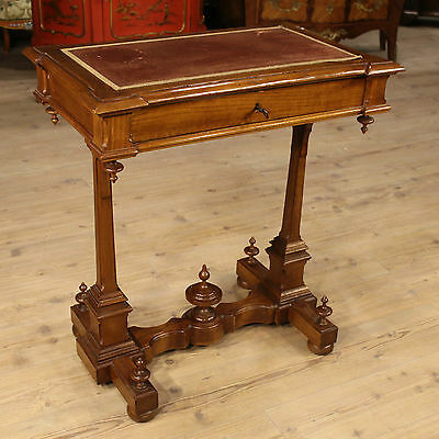 Small Table Table Secretary Desk Paint Cherry Drawer Italy Period End '800