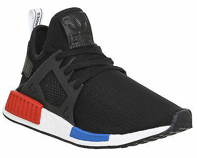 Adidas Nmd Xr1 BLACK RED BLUE WHITE PK Trainers Shoes