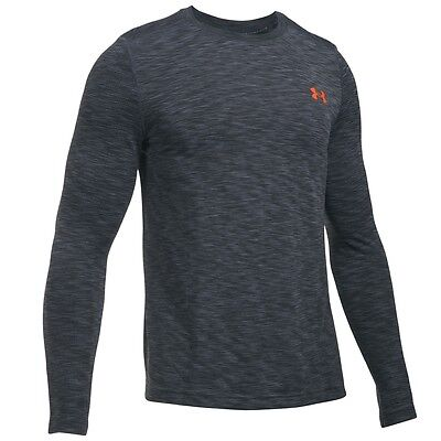Under Armour Threadborne Seamless Longsleeve Shirt stealth grey 1289615-008