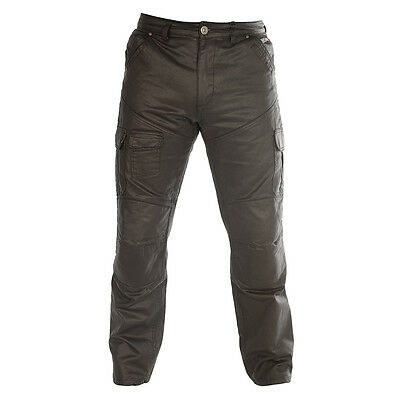 Oxford SPJ-6 Black Motorcycle Motorbike Reinforced Aqua Cargo Pants All Sizes