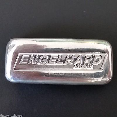 *SALE* ENGELHARD AUSTRALIA CAST BAR .999 - 5 oz of Pure Silver - SERIAL NUMBER