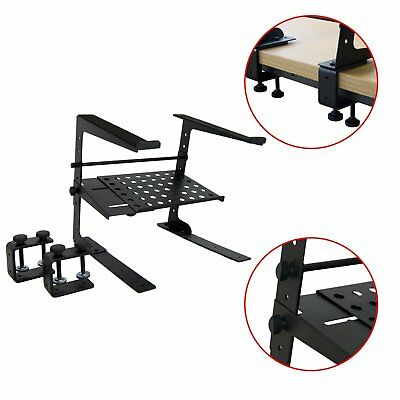Laptop & DJ Stand with Shelf - Clearance Deal!