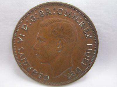 Great Britain 1950 Large Penny- Scarcer Date- No Reserve