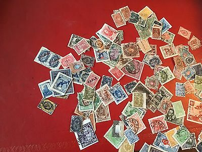 A Selection Of Old Russian Stamps
