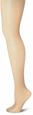 Hue Fishnet Tights Nude Color Stockings Size 2 - NEW in Package