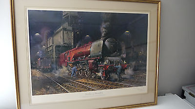 "TERENCE CUNEO Pencil signed Ltd Edition print -  ""DUCHESS OF HAMILTON"""