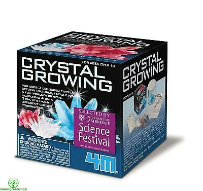 4M Crystal Growing Kit (Colourful chemistry experiment Educational Toy Kit)