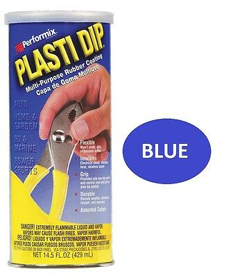 Blue 14.5oz Performix PLASTI DIP Plastic Multi Rubber Grip Coating Handle Tool