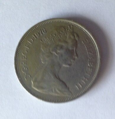 1976 Great Britain 10 New Pence UK Coin