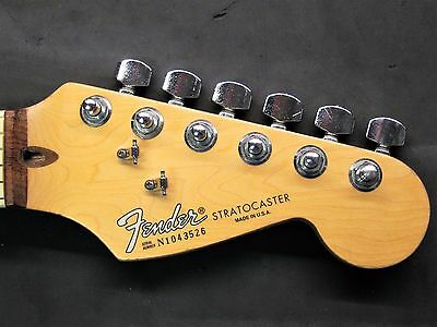 1991 Fender American Strat Rosewood NECK Stratocaster USA 90's Electric Guitar