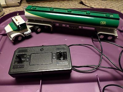 Wired Remote Control BP Oil Tanker Truck - Gasoline - USED