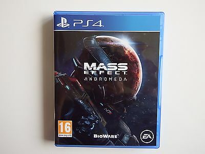 Mass Effect: Andromeda on PS4 in NEAR MINT Condition