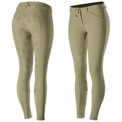 Horze Grand Prix Junior's Silicone Grip Full Seat Breeches