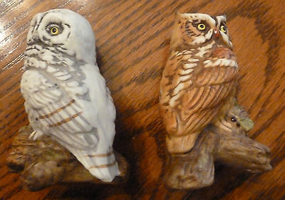 Owl Figurines #315 (2)- Great Condition!