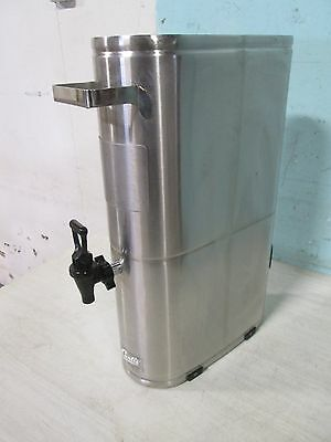 """CURTIS TCN051"" HD COMMERCIAL SS (NSF) SLIM LINE 3.5gl ICED TEA HOLDER/DISPENSER"