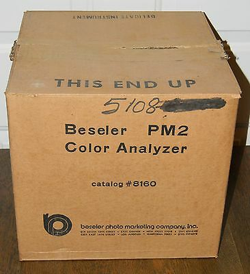 Beseler Pm2 Color Analyzer Nos New Old Stock Unused In Box Use With Any Enlarger