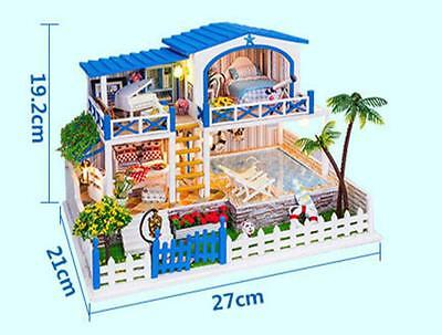 DIY Miniature Dollhouse Kit <You who come from the stars> -English Instruction