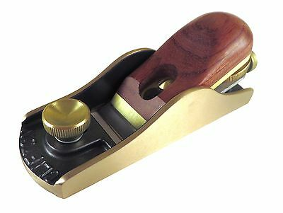 Clifton Plane Block  Adjustable Mouth Bronze Body Bubinga Handle Cryo Blade