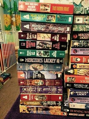 Mercedes Lackey x 43 Books. Titles in Listing