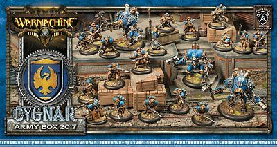 Warmachine: Cygnar - Army Box 2017