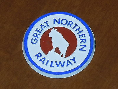 GREAT NORTHERN RAILWAY Vintage Old RUBBER FRIGE MAGNET Standings Board 1970s ram
