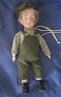 Heubach porcelain reproduction doll pouty complete parts clothed jointed