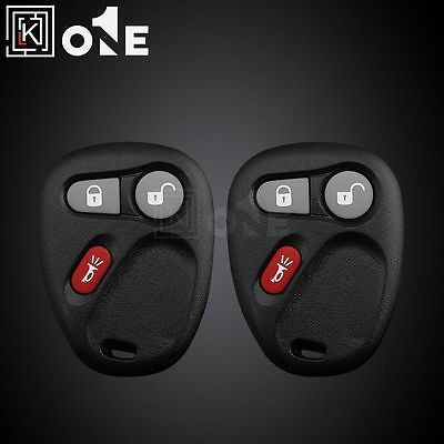 2 Replacement Keyless Entry Remote Control Car Key Fob Clicker For LHJ011 *USA*