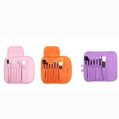 7 PCS Make Up Brush Set 3  Different Colour Package Travel Size
