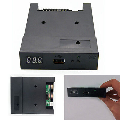 "3.5"" 1.44MB Upgrade Floppy Drive to USB Flash Disk Drive Emulator +CD Screws CT"