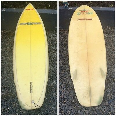 Tri Fin Classic Surfboard Kym Thompson Precision Design Torquay Waxx On