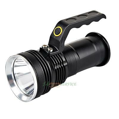 10000LM CREE Rechargeable Police Tactical LED Flashlight Torch Handheld Lamp US