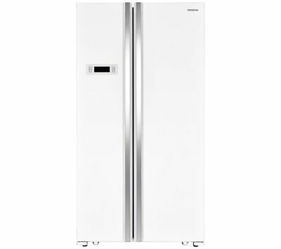 KENWOOD KSBSW17 American-Style Fridge Freezer - White