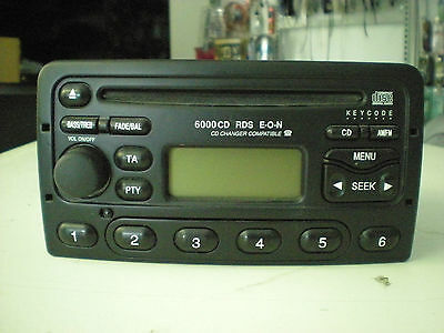 Ford AUDIO SYSTEMS 6000 CD RDS E.O.N