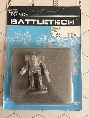 Battletech Miniature ZEU-6S Zeus - New In Blister