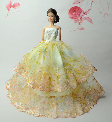 Fashion Royalty Princess Dress/Clothes/Gown For 11.5in.Doll S527