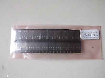 20 St. IPD50N06S4-09, SMD-Mosfet, 80V/50A, Infineon (E0120) !!