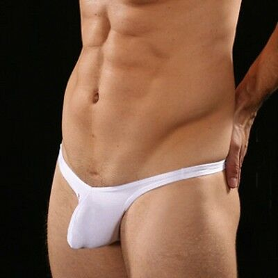 Mini String Homme Simple Blanc gay SEXY MENS T36-38